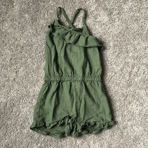 Carter's Green Romper